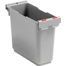 6 Liter Einsatz, für Einfachfahreimer Poly II, Kennzeichnung, rot