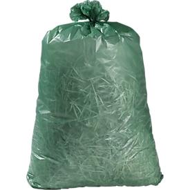 Abfallsäcke Premium, Material LDPE, grün, 120 Liter, 250 Stück
