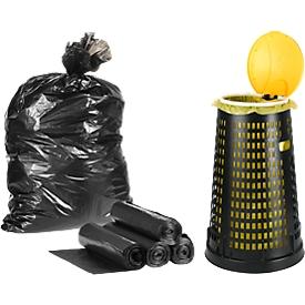 Abfallsammler mit 50 Abfallsäcken
