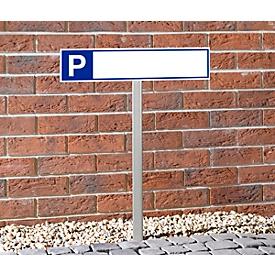 Accesorio inoxidable para el signo P
