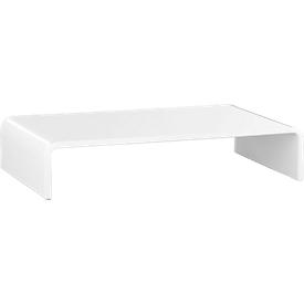 Acryl-mediadrager U-vorm, 350 x 230 x 70 mm, wit