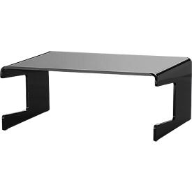 Acryl-Ständer für Flachbildschirme, schwarz