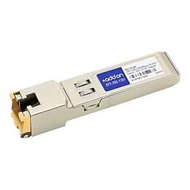 AddOn Cisco GLC-TE Compatible SFP Transceiver - SFP (Mini-GBIC)-Transceiver-Modul - GigE