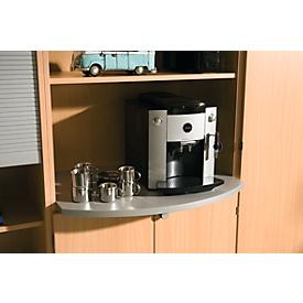 Afdekplaat TOPAS LINE, accessoire voor archiefrek en combikast met B 800 mm