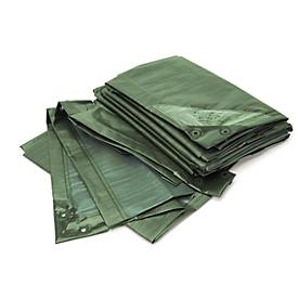 Afdekzeil, standaard, 3 x 4 m, groen