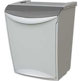 Afvalbak Eco Fancy, 25 l, grijs