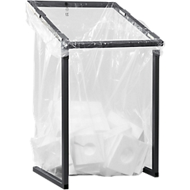 Afvalzak voor afvalsorteersysteem groot volume, LPDE Premium, 1000 l, 10 stuks