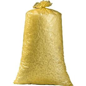 Afvalzakken universeel HDPE, 70 liter, geel, 250 stuks