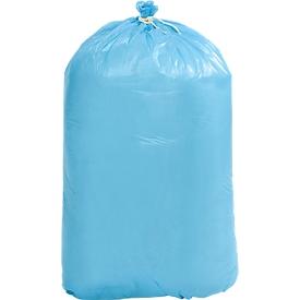 Afvalzakken van polyethen HDPE,  L1100 x B 700 mm, 20 liter, pak van 250 stuks