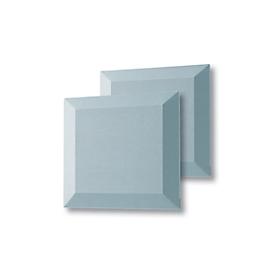 Akustik-Wandfliesen Sound Balance, Absorberklasse B, L 400 x B 400 x H 42 mm, hellblau, 2 Stück