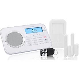 Alarmsysteem Olympia 9868, draadloos, met geïntegreerde gsm-telefoonkiezer