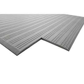 Alfombrilla antifatiga Orthomat® Ribbed, gris, 600 x 900mm