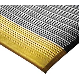 Alfombrilla antifatiga Orthomat® Ribbed, Safety, 600 x 900mm