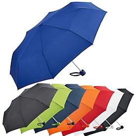 Alu-Mini-Taschenschirm, Orange, Standard, Auswahl Werbeanbringung erforderlich
