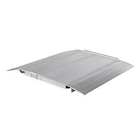Aluminium-Überfahrbrücke, 38 kg Gew., 4000 kg Tragl.