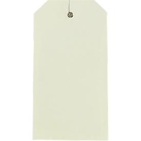 Amerikaanse hanglabels, 80 x 150 mm, 1000 st.