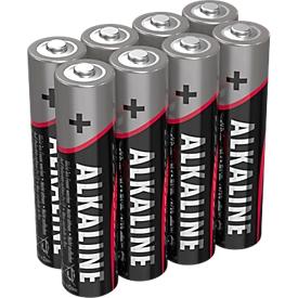 Ansmann Alkaline-batterijen Micro AAA, 8 stuks