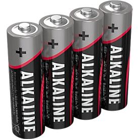 Ansmann Alkaline-batterijen Mignon AA, 4 stuks
