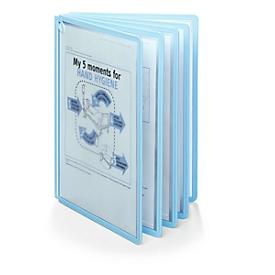 Antibakterielle Sichttafeln Durable Sherpa® Bact-O-Clean, für Sherpa® & Vario® Sichttafelsysteme, 5 Tafeln, A4, Polypropylen