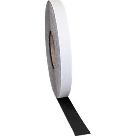 Antislip-vloertape Safety-Floor standaard, zelfklevend, 25 mm x 25 m, zwart