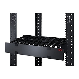 APC Horizontal Cable Manager Single-Sided with Cover Rack - Kabelführungssatz - 1U