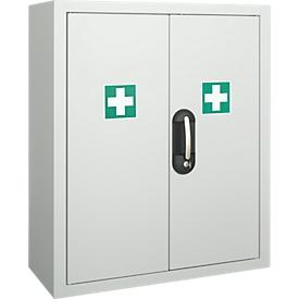 Armario de primeros auxilios, contenido no incluido