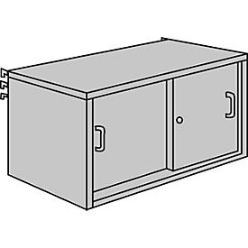 Armario de puertas correderas, An 1000 x P 400mm