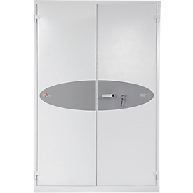 Armario ignífugo FS 1514, An 1225 x P 520 x Al 1950mm, cerradura de llave