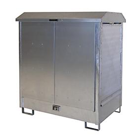 Armario para materiales peligrosos GD-N2, galvanizado