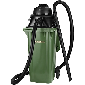 Aspirador de acoplamiento Manutec-Mammut, 1100W, apto para contenedores de basura de 120 l, sin toma de herramienta
