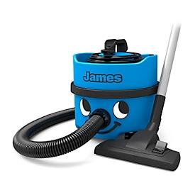 Aspirador de polvo James JVP180-11, 620W, 2300mm.c.d.a., volumen 8l, filtro permanente, longitud cable 10 m, incl. accesorios