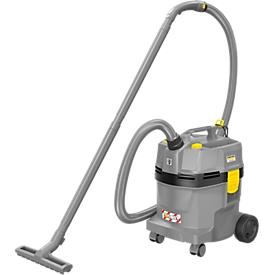 Aspirador seco/húmedo Kärcher NT 22/1 AP L, limpieza filtros semiaut., filtro PES lavable