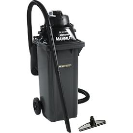Aspirador seco/húmedo Manutec®-Mammut, 1100W, incl. contenedor grande, 120 l, + tobera gratis