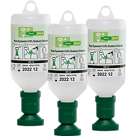 Augenspülflaschen, 500 ml, 3 Stück