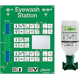 Augenspülstation mit 1 Flasche