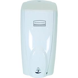 Automatischer Seifen- und Desinfektionsspender Rubbermaid AutoFoam, 1100 ml, berührungsfrei, für Wand/Ständer, weiß