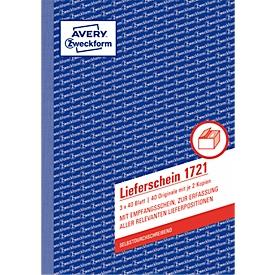 Avery Zweckform afleveringsbewijs nr. 1721