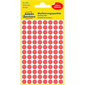AVERY Zweckform markeringspunten 3010, rood