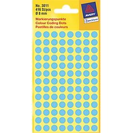 AVERY Zweckform markeringspunten 3011, blauw