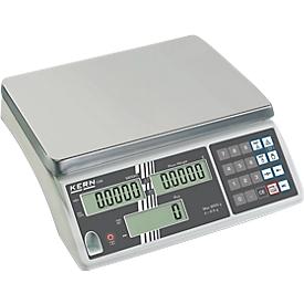 Balanza cuentapiezas compacta KERN CXB, 6 kg
