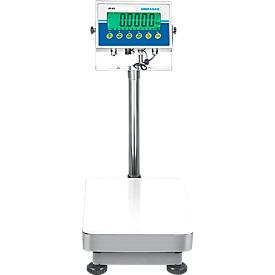 Balanza de control de sobremesa, rango de pesaje máx. 8 kg, con batería, con pantalla y función de retención
