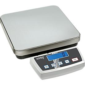 Balanza de plataforma DE15 K2 D, rango de pesaje 15 kg