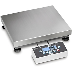 Balanza de plataforma KERN IOC, carga mínima 40/100 g