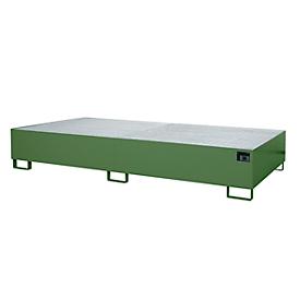 Bandeja de goteo AW 1000-2, verde RAL 6011