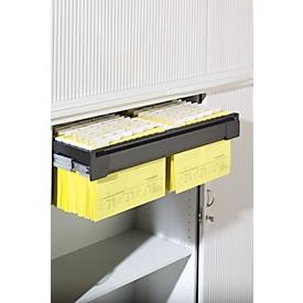 Bandeja extraíble para archivadores colgantes, para armario de persiana transversal, para anchura 1000mm