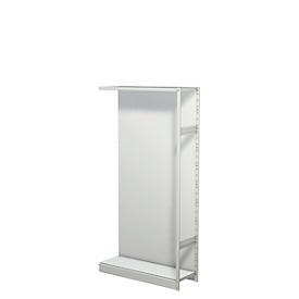 Bastidor estantería PROGRESS 500 T, módulo adicional, con pared trasera, Al 1900 x An 960 x P 340mm