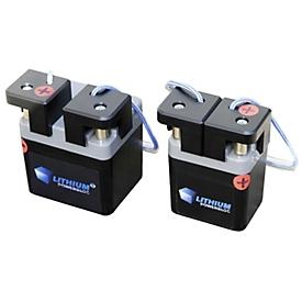 Batterijsysteem Li-Power-Block 12,8 V - 3,3 Ah voor CEMO elektrische pompen met 12 VDC voedingsspanning, met lader