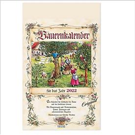 Bauernkalender, 13 Blatt, B 300 x H 420 mm, Werbedruck 250 x 35 mm, Auswahl Werbeanbringung erforderlich