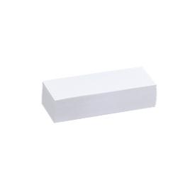 Bedrukbaar etiket RKE 400S, voor kopse zijde of tussenschotjes, 100 stuks