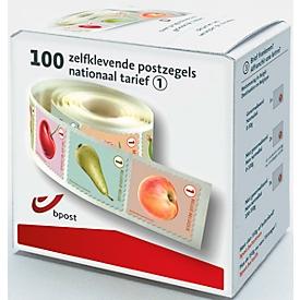 Belgische postzegels, pak van 100 stuks
